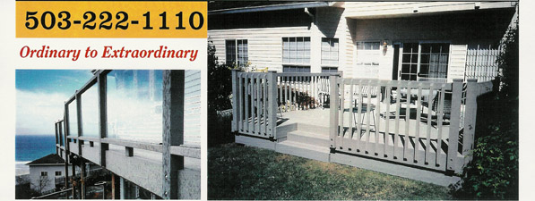 503-222-1110 NW Fence & Deck